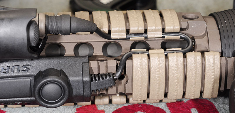 why do people wrap their rails with paracord ar15 com. Black Bedroom Furniture Sets. Home Design Ideas